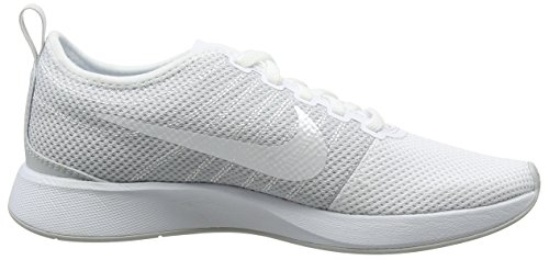 White W Racer para Dualtone Zapatillas Nike Pure Blanco Mujer Platinum 103 fwq0x
