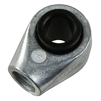 JR Products (EF-PS300) 6mm Clevis Swivel End Fitting
