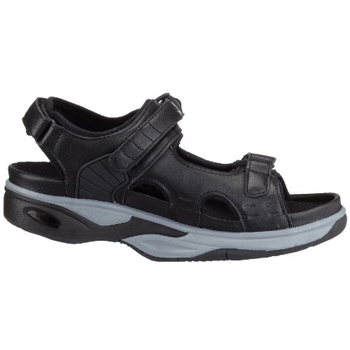 Chung Shi AuBioRiG Comfort Step Sandale Texas 9102115 - Sandalias para mujer Negro