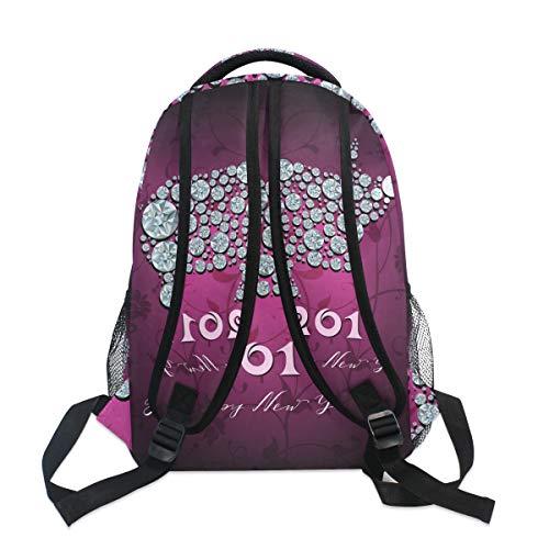 for Bag for Pig Backpack Men Travel 2019 New Satchel Backpack Bag Book Boys School Ahomy Year Hiking Girls Teenager Women qgITtTnP