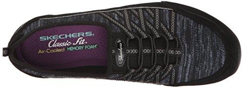 Unity Eternal Skechers Bliss Donna Allenatori Charcoal Black Nero Bq55wdv