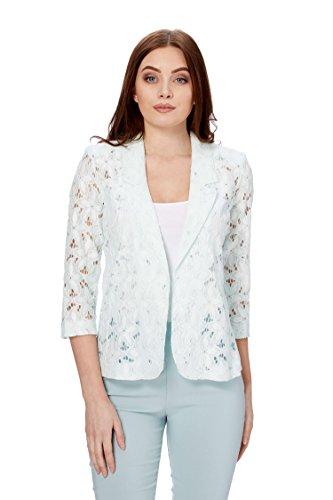 Floral Lace Jacket Menthe