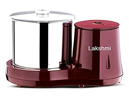 Lakshmi 2 L Table Top Wet Grinder (Maroon)