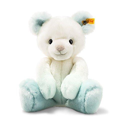 Plush Animals Steiff Soft (Steiff Soft and Cuddly Turquoise/White Teddy Bear - 12
