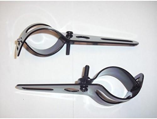 PATTES DE PHARE ADAPATABLES NOIRE-35//52mm-6029N