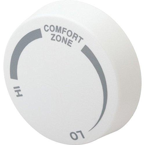 (ITEM#258025 Cadet Almond Single Pole Baseboard Thermostat Knob)