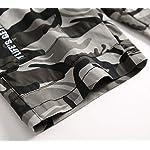 LAUSONS Short Garcon Camouflage - Bermuda Enfant Garçon été - Pantalon Court Militaire Slim Chino Shorts 12