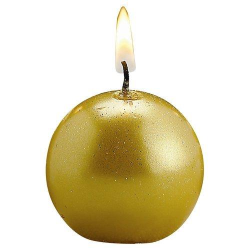 OKSLO The Holiday Aisle Metallic Candles (Set of 12)