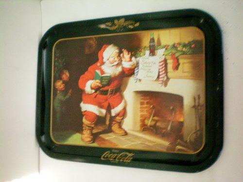 VINTAGE Santa Claus Enjoy Coca Cola Tray - Vintage Coca Cola Tray Shopping Results