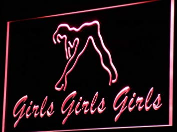 ADVPRO Girls Night Club Bar Beer Wine LED Sign Neon Light ...