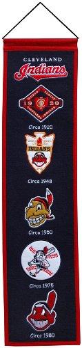 MLB Cleveland Indians Heritage Banner Cleveland Indians Mlb Applique