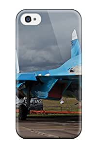For Iphone 4/4s Protector Case Jet Fighter Phone Cover