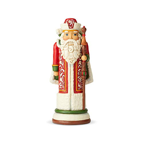 Russian Nutcracker - Enesco Jim Shore Heartwood Creek Russian Nutcracker Figurine