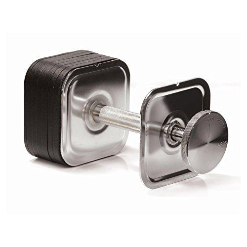 Ironmaster 45 lb Quick-Lock Adjustable Dumbbell System (45 lb set)