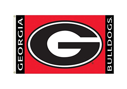 NCAA Georgia Bulldogs 3-by-5 Foot Flag G Logo with Grommets
