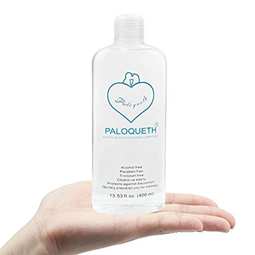 Water Based Lubricant Super Slick Long Lasting,PALOQUETH Premium Personal Lube for Women Vagina Dryness Silicon Toys Paraben-free Hypoallergenic Vegan-friendly 13.5 oz