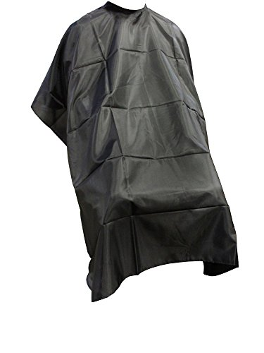 TMS Pro Salon Barber Hairdressing Gown Dye Styling Cutting Shampoo Hair Cape Cloth (1 (Cutting Cloth)