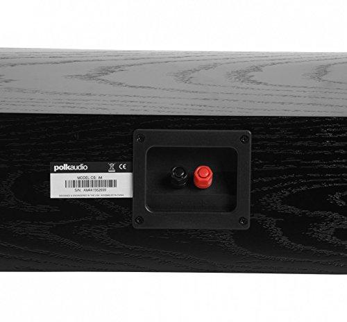 Polk Audio CSI A4 Center Channel Speaker (Single, Black) by Polk Audio (Image #2)