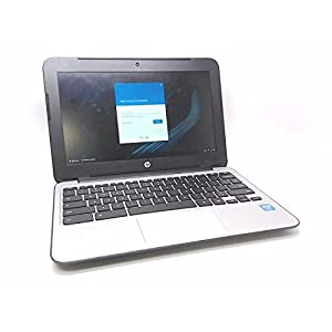 HP Chromebook 11 G3 11.6-inch Intel Celeron N2840 4GB 16GB SSD Storage Google Chrome OS Notebook Laptop