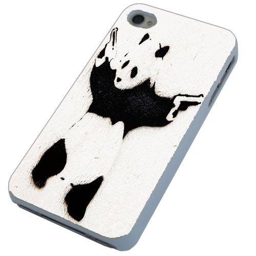 Banksy de oso Panda con pistolas de Graffiti Street móvil funda ...