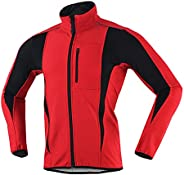 Thermal Cycling Jackets for Men Women Winter Windproof Bicycling Jacket Waterproof MTB Windbreaker Softshell R