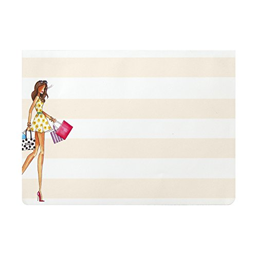 "C.R. Gibson Magnetic List Pad by Winks, 75 Sheets, Perfect For Notes & Doodles, Measures 5"" W x 7"" H - Shop-O-Holic"