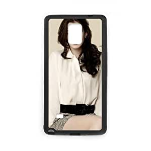 Celebrities Anne Hathaway Samsung Galaxy Note 4 Cell Phone Case Black Pretty Present zhm004_5003647