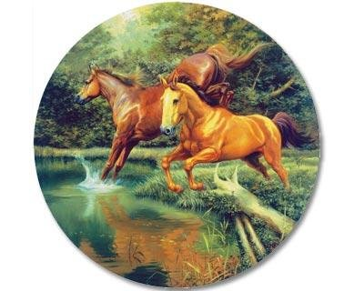 Jumping in the Pond Jigsaw Puzzle 1000 Piece