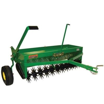 John Deere 40 in. Tow-Behind Combination Aerator-Spreader