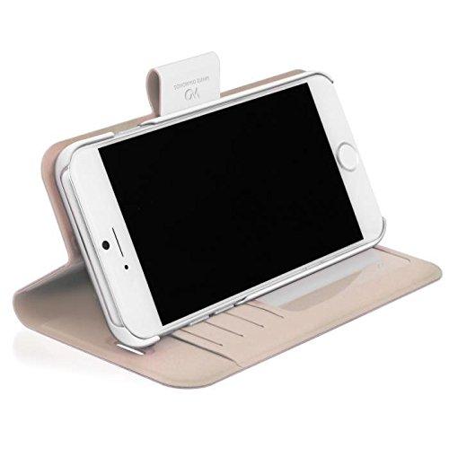 White Diamonds Swarovski Kristall Wallet Schutzhülle für Apple iPhone 6Plus/6S Plus, weiß
