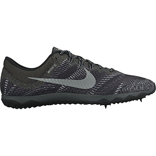Nike Zoom Metallic Shoes Men's XC Silver Black Rival Grey Running d5X0qgxwg