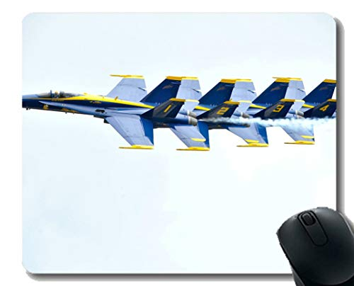 Gaming Mouse Pad,Blue Angels F 18 Fighter Laptop Mouse pad Gaming Mouse pad
