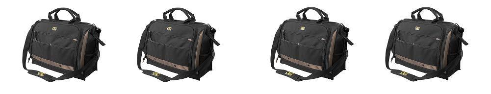 CLC Custom LeatherCraft 1539 Multi-Compartment 50 Pocket Tool Bag