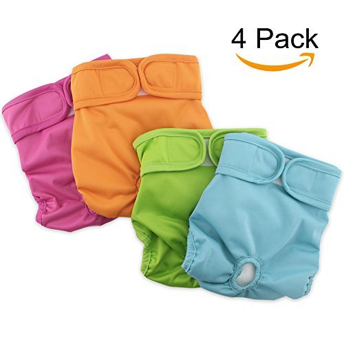 Grand Line Female Washable Reusable Diapers For Dogs and Cats Diapers For Waist 9