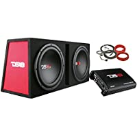 DS18 BP210 1200W Complete Bass Package with Two 10 Subs, Monoblock Amplifier & Full Installation Kit