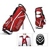 Team Golf NCAA Louisville Cardinals Fairway Golf Stand Bag, Lightweight, 14-way Top, Spring Action Stand, Insulated Cooler Pocket, Padded Strap, Umbrella Holder & Removable Rain Hood