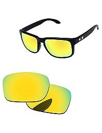 Oak&ban Polarized Replacement Lenses for Oakley Holbrook Sunglasses-Multi Options