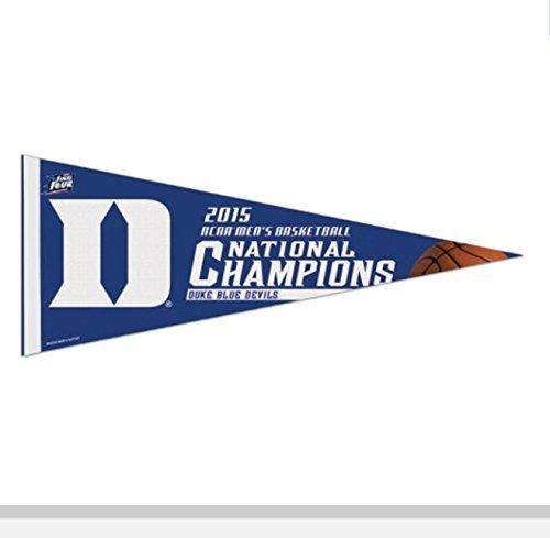 "Duke Blue Devils WinCraft 2015 NCAA Men's Basketball National Champions 12"" x 30"" Premium Pennant"