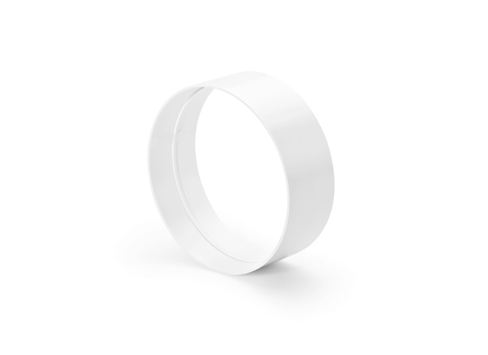 Naber R-VBS 150 Rohrverbinder round, weiß weiß