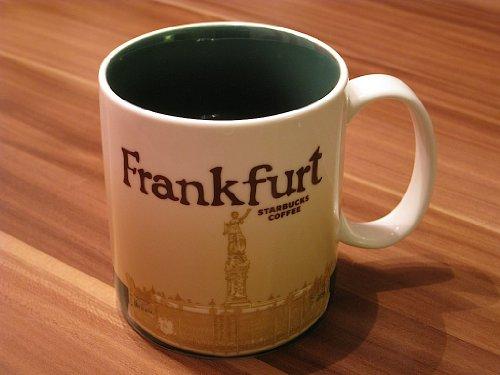 Starbucks Frankfurt (Germany) Global Icon Coffee Tea Mug 16 ()