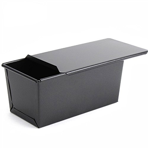 Aluminized Steel Loaf Pan with Lid
