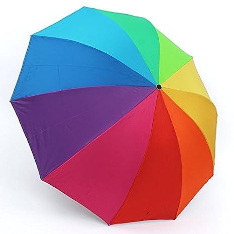 Sasan La sombrilla Paraguas Paraguas Paraguas Rainbow ...