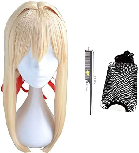 コスプレウィッグ ヴァイオレット・エヴァーガーデン 耐熱 かつら cosplay wig イベント ハロウィン 仮装 専用ネット