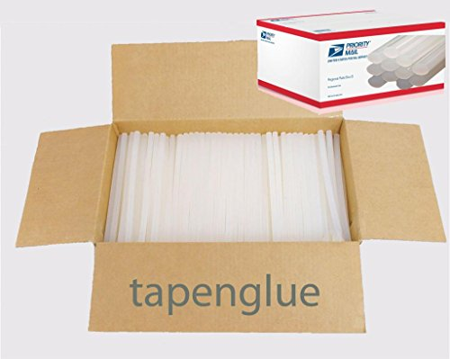 Hot Melt Glue Sticks 10'' 7/16'' 25 lb by tapenglue