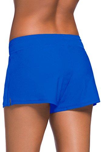 Aleumdr - Tankini - para mujer azul cobalto