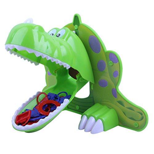 Fenteer 子ども 贈り物 おもしろい おもちゃ 空腹の恐竜 ボードゲーム パーティー ゲーム プラスチック製