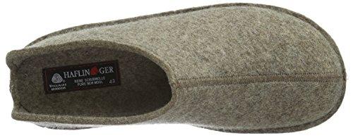 Haflinger Unisex-Erwachsene Flair Smily Pantoffeln Beige (550 Torf)