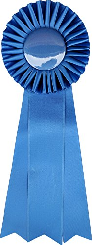Medium-Large Ribbon Award Rosette - for Prize, Party, Gift, or Prop - 13