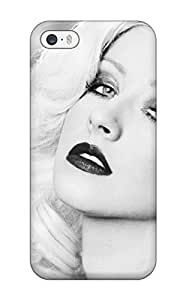 Premium Protection Christina Aguilera Case Cover For Iphone 5/5s- Retail Packaging