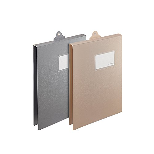 Goblin's Treasures Plastic Clipboard with Cover,Letter Size File Folder Document Holder A4 Hanging File Clipboard Form Holder with Tag Slot